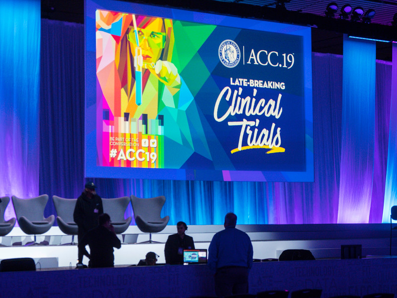 Workers and attendees during ACC Set-up