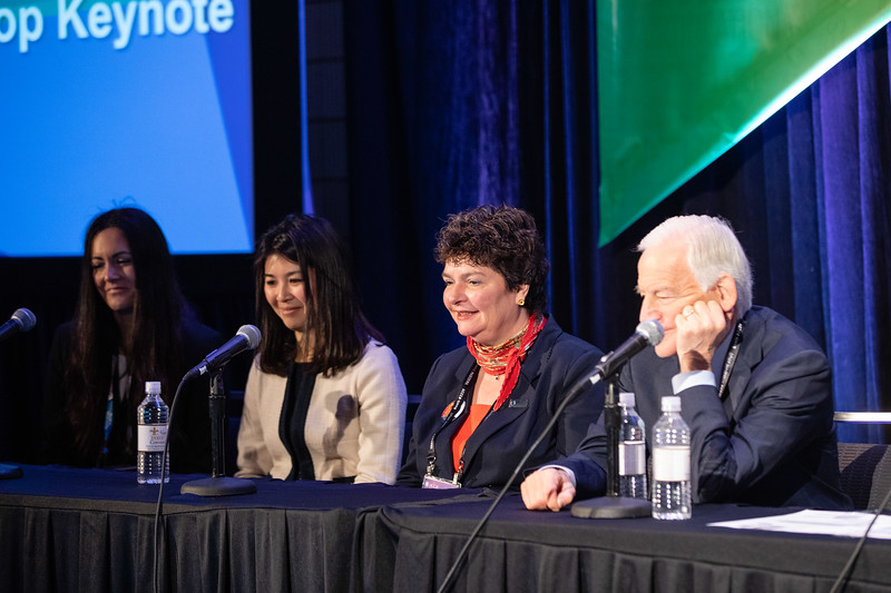 Panelists and attendees during 50th Annual Louis F. Bishop Keynote -- Clinician Wellness Intensive I and II
