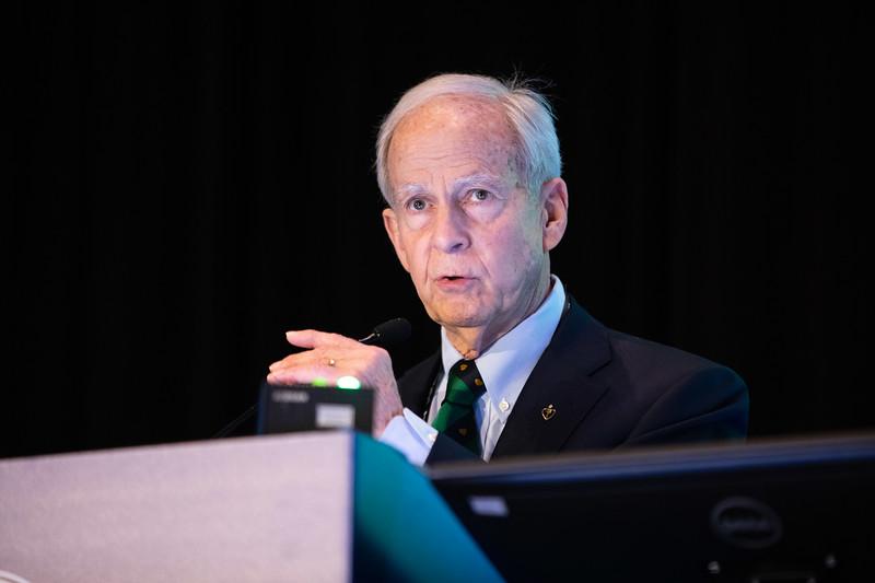 Sidney C. Smith Jr. speaks during Prevention Guideline Session