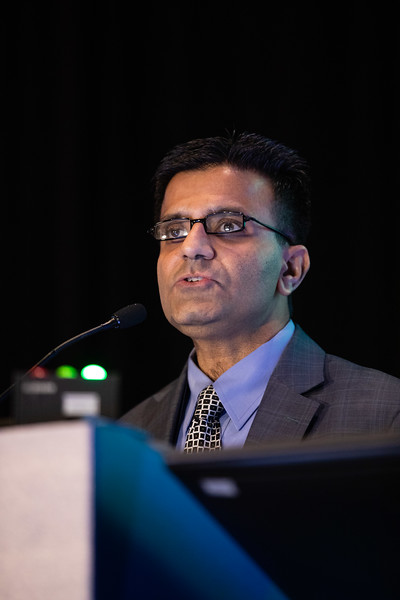 Salim Virani speaks during Prevention Guideline Session