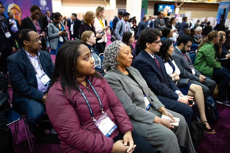Speakers and attendees during Diversity and Inclusion in Cardiology: Where Are We Headed?
