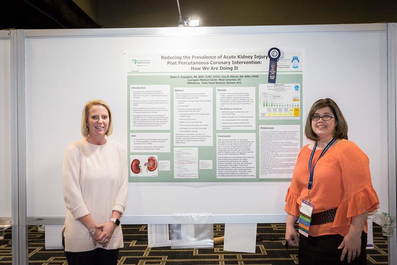 Lisa Altman and Dawn Crumpton during the ACC Quality Summit