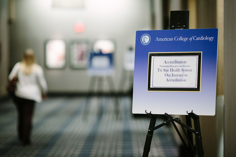 Signage during the ACC Quality Summit