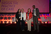 Sara Bejonas, Jeanne Jacobus, Therese Vallina and Chad Rammohan after accepting awards during the ACC Quality Summit