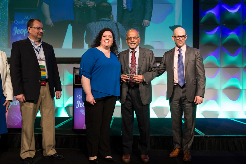 Attendees receive awards during the ACC Quality Summit