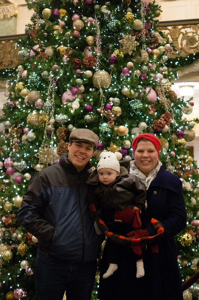 Our Family at Temple Square - December 2015