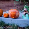 First Halloween - our little dinosaur