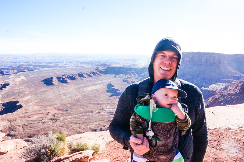 Hiking in Moab - February 2015