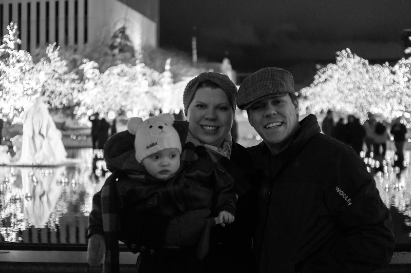 Our Family at Temple Square-December 2015