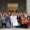 Everyone who came to our LDS Temple Sealing