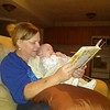 Grandma reading stories to Patrick