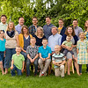 M'Recia's parents, brothers and sister, and nieces and nephews