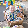 Playing in a basket