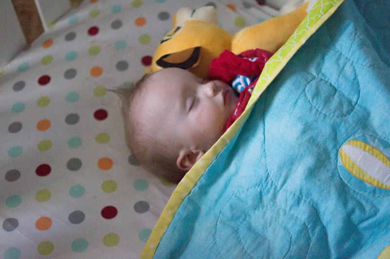 Sweet sleeping baby - March 2015