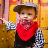 2 year old train photoshoot - April 2016