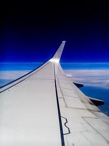 Flying from El Hierro