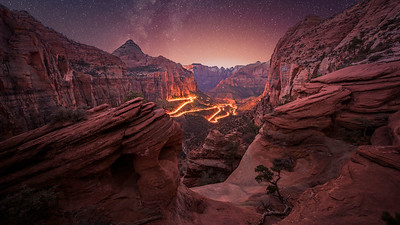 Breathtaking beauty of Zion