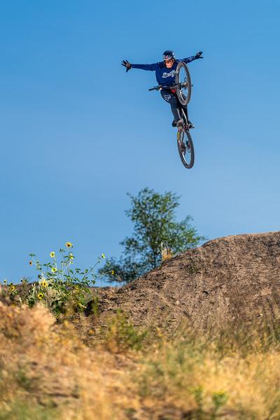 Anthony Napolitan at the Eagle Bike Park near Boise ID.