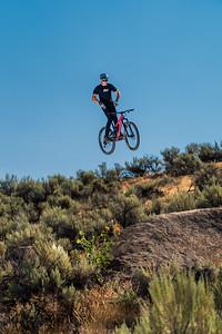Braydon Bringhurst at the Eagle Bike Park near Boise ID.