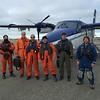 NOAA 56 flight crew in front of plane