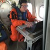 Dr. Kevin Wood working on NOAA 56