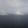 Chukchi Sea showers as seen from plane