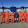 NOAA 56 flight crew with plane