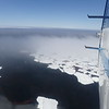 Ice albedo in action as seen from plane