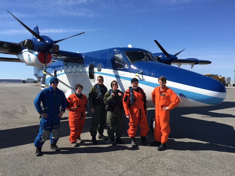 NOAA 56 flight crew
