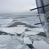 5/19/2019 Position: 72 10 36 N 161 06 52 W (D-M-S)<br /> Sea ice in the Chukchi Sea as seen from the NOAA Twin Otter during Arctic Heat 2019.