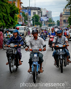 Scooter riders, Mandalay