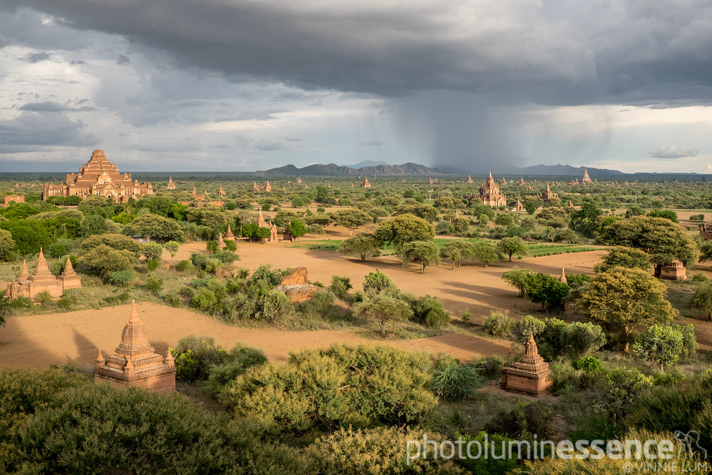 Bagan from on high