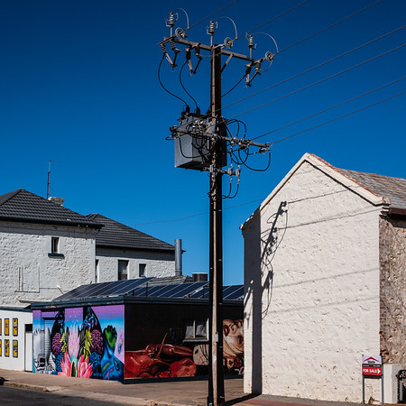 Power and art (Tumby Bay)