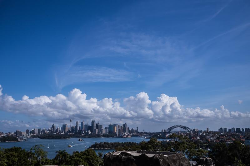 Sydney bay from Taronga Zoo