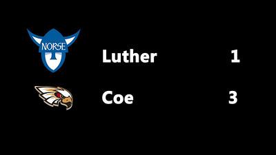 20170511 Luther vs Coe IIAC
