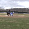 2018 03 30-Time-13-00-00 Luther Baseball vs Simpson 00000 Trent Athmann throw out steal attempt again