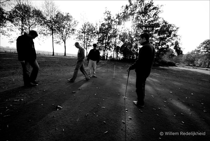 Playing Farmers Golf