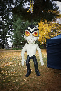 The spooky vampire at our campsite