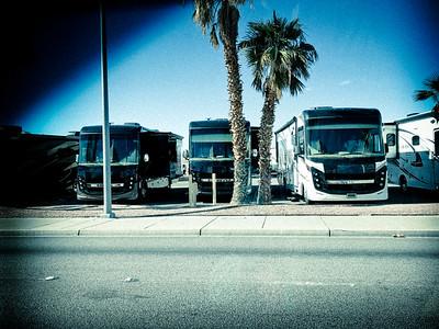 Plenty of RVs in Laughlin, AZ.