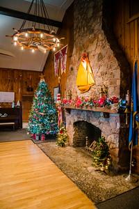 Christmas Decorating at Yacht Club 2020