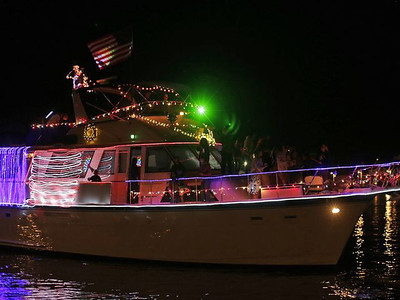 Venetian Boat Parade and 4th of July