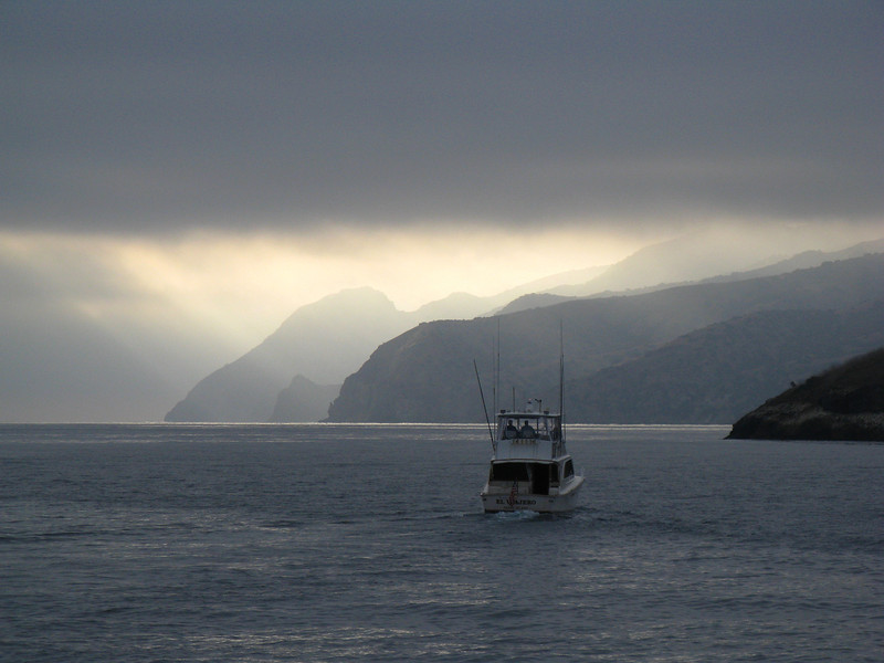 Off the Isthmus of Catalina Island, California. Taken on Sept. 19, 2009 with a Canon A720IS point and shoot.
