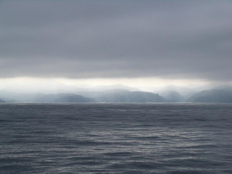 Somewhere off Catalina Island, California. Taken on Sept. 9, 2009 with a Canon A720IS point and shoot.