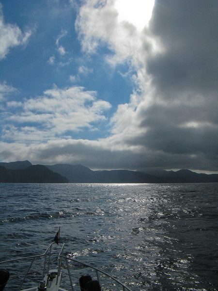 Somewhere off Catalina Island, California. Taken on Sept. 20, 2008 with a Canon A720IS.