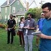 Grassroots Gardens tour, Buffalo, School of Architecture and Planning