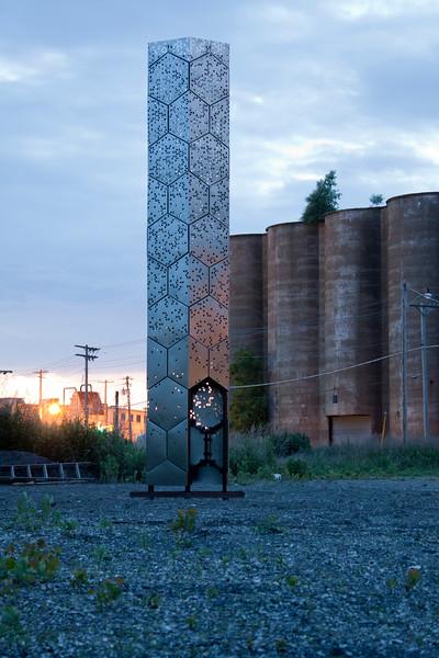Elevator B, Silo City, Buffalo. Photo courtesy of School of Architecture and Planning