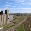 Students tour grain elevators at Silo City, photo courtesy of School of Architecture and Planning