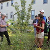 Master of Urban Planning tour of Grassroots Gardens, Buffalo, Photo courtesy of School of Architecture and Planning