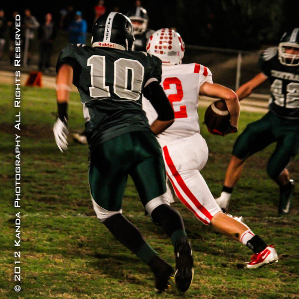 Kenny Lopez Central Valley High School Ceres CA Football