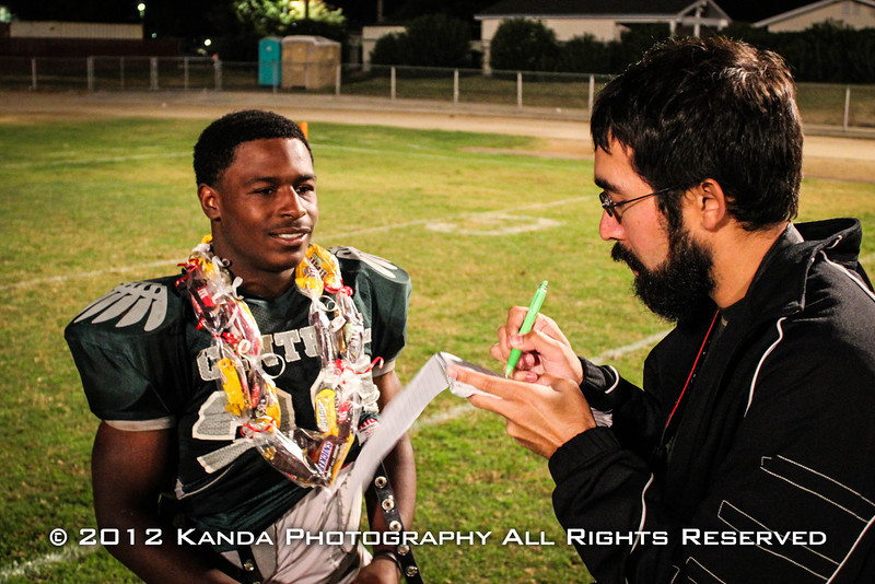 Interviewing Ja'Quan